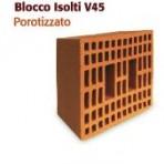BLOCCO  ISOLTI  POROTIZZATO V45 25x30x19
