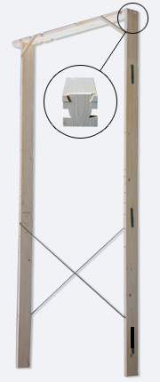 Falso Telaio Porta Blindata Usi Glisante Interior Exterior