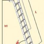 SCALA DA APPOGGIO BIBLIO MT 3,60
