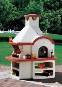 Barbecue classic america consorzio rivenditori materiali - Barbecue in muratura con forno ...