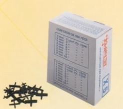 Distanziatori per piastrelle a x conf 1000 pz for Distanziatori piastrelle 1 mm