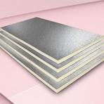 ISOLAMENTO COPERTURE POLIISO AD alluminio goffrato