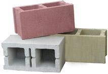 Blocco cemento 20x20x50 fv impermeabile colorato - Cemento colorato per esterni costo ...