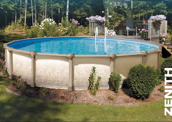 Piscina rigida fuori terra zenith circolare consorzio - Rivenditori piscine fuori terra ...