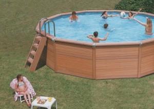 Piscina rigida fuori terra azteck circolare consorzio - Rivenditori piscine fuori terra ...