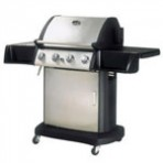 GRILL A GAS PARTY INOX 4