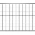 RECINZIONE MOBILE 4 TUBI  ORIZ/VERT 40 MM DIM. PANNELLO 3415X2000