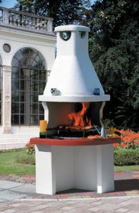 Barbecue classic cortina consorzio rivenditori materiali - Angolo barbecue in giardino ...
