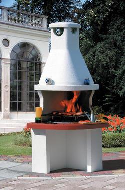 Barbecue consorzio rivenditori materiali edili - Barbecue da giardino in pietra ...